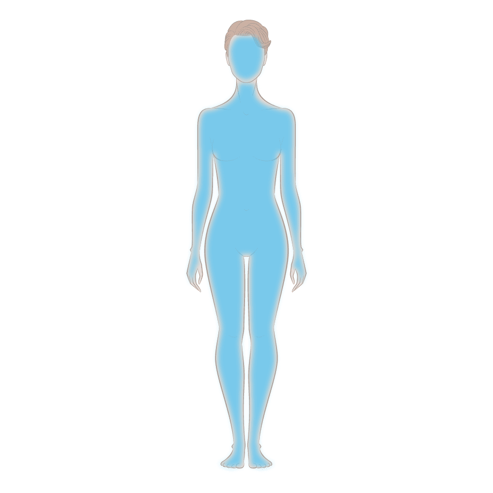 Bio Serum Skin Area Diagram