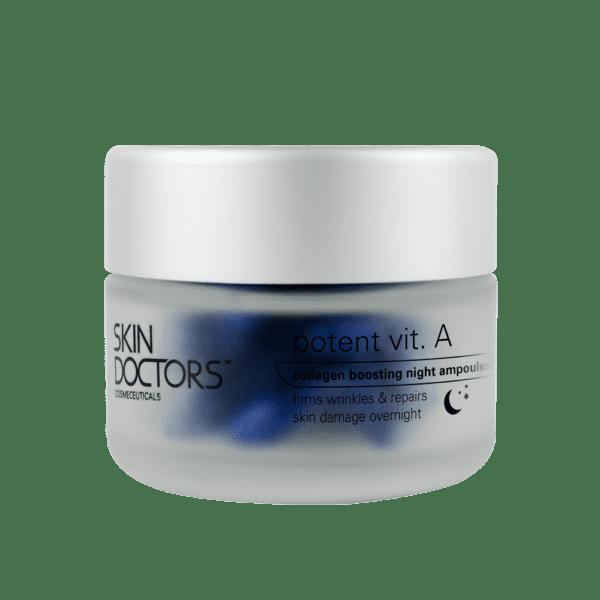 Potent Vitamin A Ampoules Jar